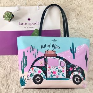 Kate Spade | New Horizons Scenic Out of Office NWT